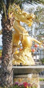 Dragon at Queen Sirikit Garden